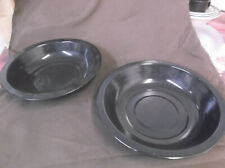 """LOT OF 2 NEW BRINKMANN BBQ SMOKER GRILL REPLACEMENT COATED WATER PAN 12 3/4"""""""