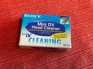 1x Sony MiniDV Head Cleaner DVM-12CLD • Neu in Folie • Cleaning Kassette