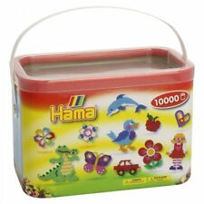 Hama Beads In a Bucket Solid Mix
