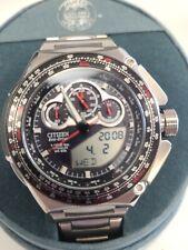 Citizen Eco-Drive 1/1000 Sec Titanium WR200 JW0071-58E Unworn Watch