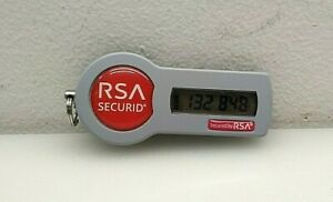 RSA SECURID AUTHENTICATOR SID700 SECURITY TOKEN KEY FOB TAMPER PROOF EXP. 2025