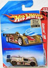 HOT WHEELS 2010 RACE WORLD SPEEDWAY CADILLAC LMP #03/04 FACTORY SEALED