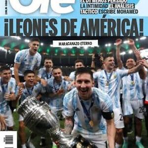 COPA AMERICA 2021 Argentina Messi Champion - OLE Magazine