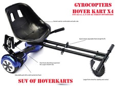 """HoverKart HoverCart Adjustable Kart Holder for Hoverboard Fit All 6.5/8/10"""" Blac"""