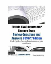 Florida HVAC Contractor License Exam Review Questions and Answe... Free Shipping