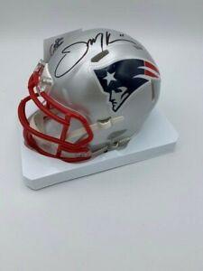 Julian Edelman New England Patriots Signed Autograph Speed Full Size Helmet Fanatics Authentic Certified
