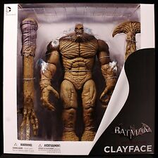 "2015 DC DIRECT BATMAN ARKHAM CITY CLAYFACE DELUXE 13"" ACTION FIGURE MIB"
