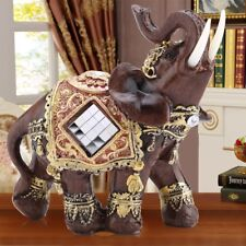 Medium Elephant Sculpture Feng Shui Home Decor Collection Statue Figurine Crafts