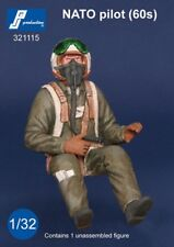 1/32 PJ PRODUCTION NATO PILOT SEATED IN A/C (60s)