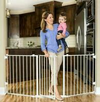 "Regalo 1175DS Flexi Super Wide 3-Panel 76"" Configurable Baby Gate"