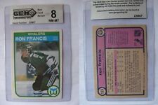 1982-83 O-Pee-Chee #123 Ron Francis RC GEM grading NM-MT 8 rookie  OPC