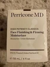 Perricone Md Face Finishing & Firming Moisturizer 4oz High Potency Classics