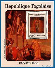 RÉPUBLIQUE TOGOLAISE Togo PAQUES 1986 RESURRECTION BLOC 251A NEUF ** BD89
