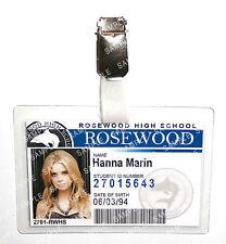 Pretty Little Liars Hanna Marin ID Badge Cosplay Prop Costume Gift Comic Con