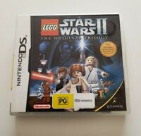 Lego Star Wars II The Original Trilogy Nintendo DS 2DS 3DS Game *Complete*