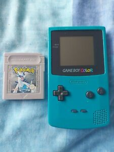 Gameboy Colour Teal Pokemon Silver