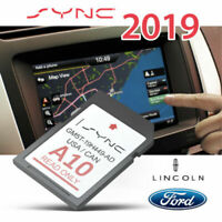 LATEST UPDATE! 2019 FORD A10 NAVIGATION GPS SD CARD SYNC 2 USA CANADA REPL A9
