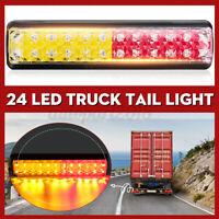 12/24V 24 LED Rear Tail Light Lamp Ute Trailer Caravan Truck Boat Stop Reverse