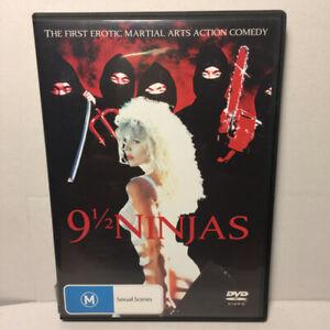 9 1/2 Ninjas  (DVD, 1991) Region 4 PAL