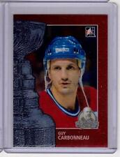 GUY CARBONNEAU 13/14 ITG Lord Stanley's Mug #18 Premium Metallic Card Canadiens