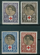 Romania 1945 mi.827-30 ** Croce Rossa, Red Cross, regina madre Helene