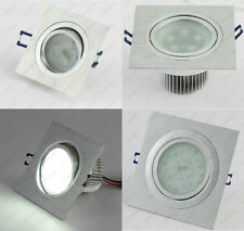 LED Ceiling Light DownLight Fixture Recessed Lamp Square Frosted Acrylic Cabinet