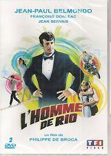 "DVD ""L'HOMME DE RIO"" -Jean-Paul Belmondo, Françoise Dorleac NEUF SANS BLISTER"