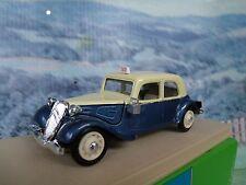 1/43 Eligor (France)   Citroen traction avanti Taxi parisien 1939
