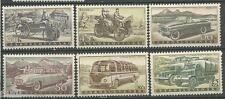 Checoslovaquia Cekoslovensko yv # 994/999 ** MNH Set. Coches / cars / automovil