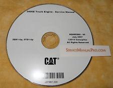 caterpillar 3406e manual senr5580 cat caterpillar 3406e truck engine factory repair service manual cd