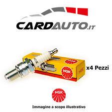 4 Candele NGK BKR6EKC Accensione FIAT Multipla 1.6 16V Natural Bluepower Bipower