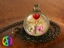 Mother's Day Handmade Fashion Necklace Pendant Jewelry Gift Present for Mom