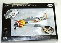 Testors FW-190 Focke Wulf Airplane 1:48 Scale Diecast Metal Model Kit NEW