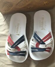 Salt Water Red White and Blue Sandal SIze 7 New