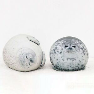 Fluffy Plush Seal Pillow Free Shipping