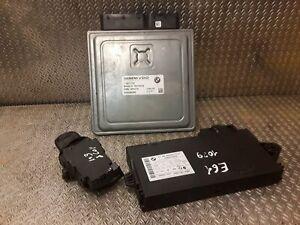 BMW Engine ECU Set KIT DME 7567178 5 Series E60 E61 525i N52