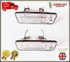 AUDI A3 8P AUDI A4 B6 B7 A6 C5 A8 Q7 NEW PAIR 2X NUMBER PLATE LAMP LIGHTS LENS