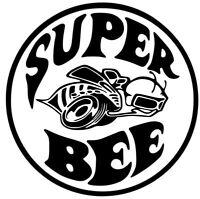 qg 572 1968 70 dodge coronet super bee quarter panel decal set 1970 Coronet Model mopar super bee dodge ram decal car truck custom vinyl sticker 12colors