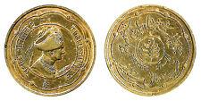"Rare India ""Jaipur"" Princely State ""Portrait King Sawai Mansingh"" 1 Anna"