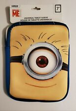 """Despicable Me Minions 7"""" Universal Padded Tablet Sleeve Cover"""