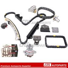 Timing Chain Kit w/o Gears & Water Pump H25A H27A 99-06 2.5L 2.7L Suzuki Chevy