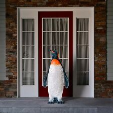 1.25m Outdoor Emperor Penguin LED Light Up Christmas Figure   Large Commercial