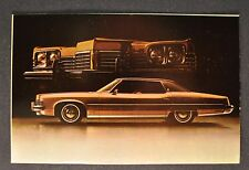 1973 Pontiac Grand Ville 4-Door Hardtop Postcard Sales Brochure Excellent Orig