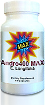 Andro400 Max - 1 Bottle (30 Day Supply) - Guaranteed Manufacture Direct