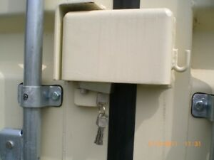 Shipping Container Lock Box & Pad Lock Set - Top Security - Postage Included