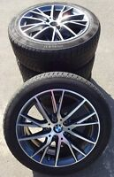 4 BMW Winterräder Styling 489 195/55 R17 88H BMW 2er F45 F46 7849122 RDK TOP !!