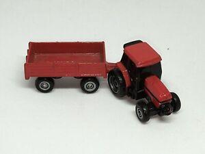 Ertl 1/87 Massey Ferguson Tractor Trailer Disc Harrow Miniature
