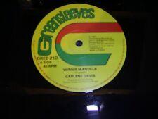 "CARLENE DAVIS Winnie Mandela GREENSLEEVES RECORDS 1987 UK 12"" SINGLE THE CHEAPES"