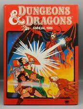 1986 Dungeons & Dragons cartoon annual UK only book RARE animated series VENGER