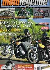MOTO LEGENDE N0211 10 JAPAUTO 1000 VX KAWASAKI Z900 NORTON COMMANDO 1977